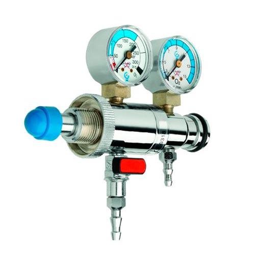 G109 - Regulador con caudalímetro y aspiración